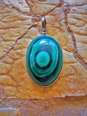 Malachite (Africa) Pendant-SOLD