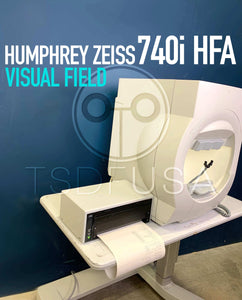 Humphrey Zeiss 740I HFA Visual Field Software 5.0