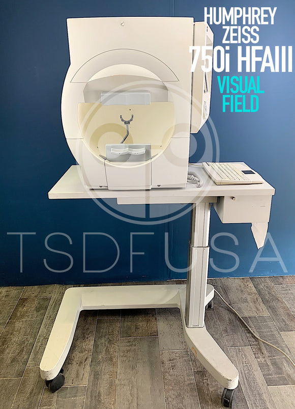 Humphrey Zeiss 750i HFAIII Visual Field software 4.2.2
