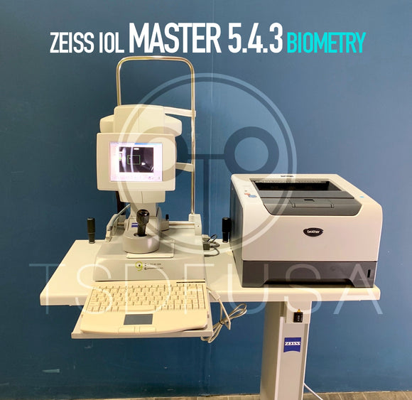 Zeiss IOL Master 5.4.3 Biometry