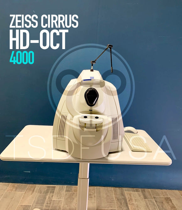 Zeiss Cirrus HD-OCT 4000 OCT
