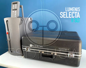 Lumenis Selecta II SLT Glaucoma Laser System w Haag Streit Slit Lamp Attachment portable clip-on