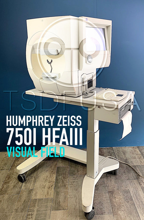 Humphrey Zeiss 750I HFAIII Visual Field Software 5.1.2