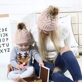 Mommy & Me Knitted Hats