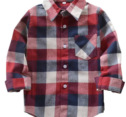 James Plaid shirts