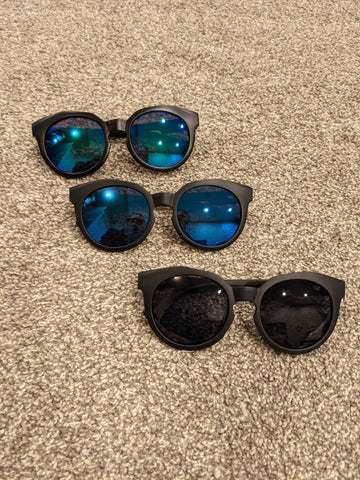 Bright lense Sun glasses