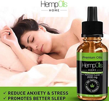 Load image into Gallery viewer, Premium Organic Hemp Oil  -2500mg- 100% All-Natural