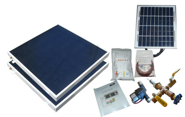 Beach Solar Water Heater Kit