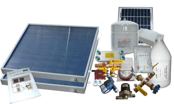 Freeze Protected Solar Water Heating Kit