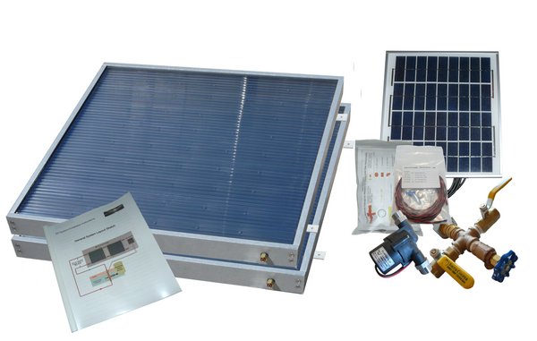 Standard Solar Hot Water Kit with SW-38 panels