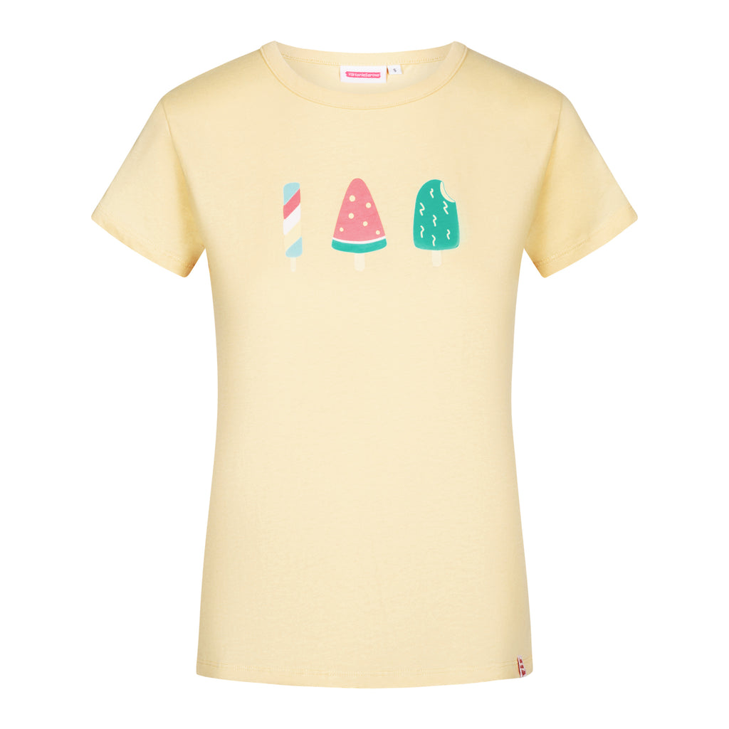 Spring in eine Pfütze! Ice-Cream T-Shirt