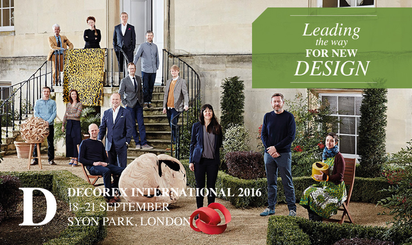 Delighted to be exhibiting at Decorex