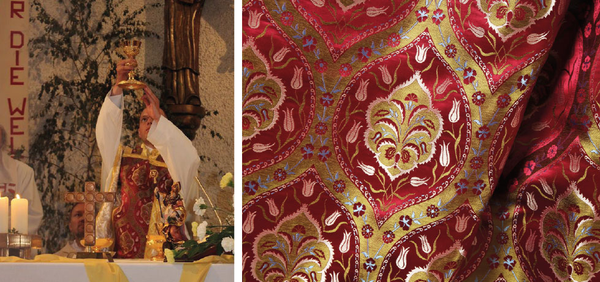 Ottoman Silks clients are invariably cultured and appreciative of our historic designs that were woven over 500 years ago.