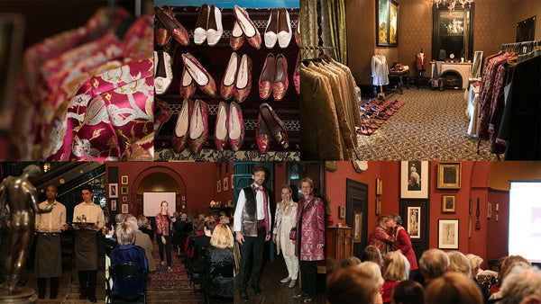November 13th 2017 - The story, fashion show and sale of the Ottoman Silks Collection at Leighton House