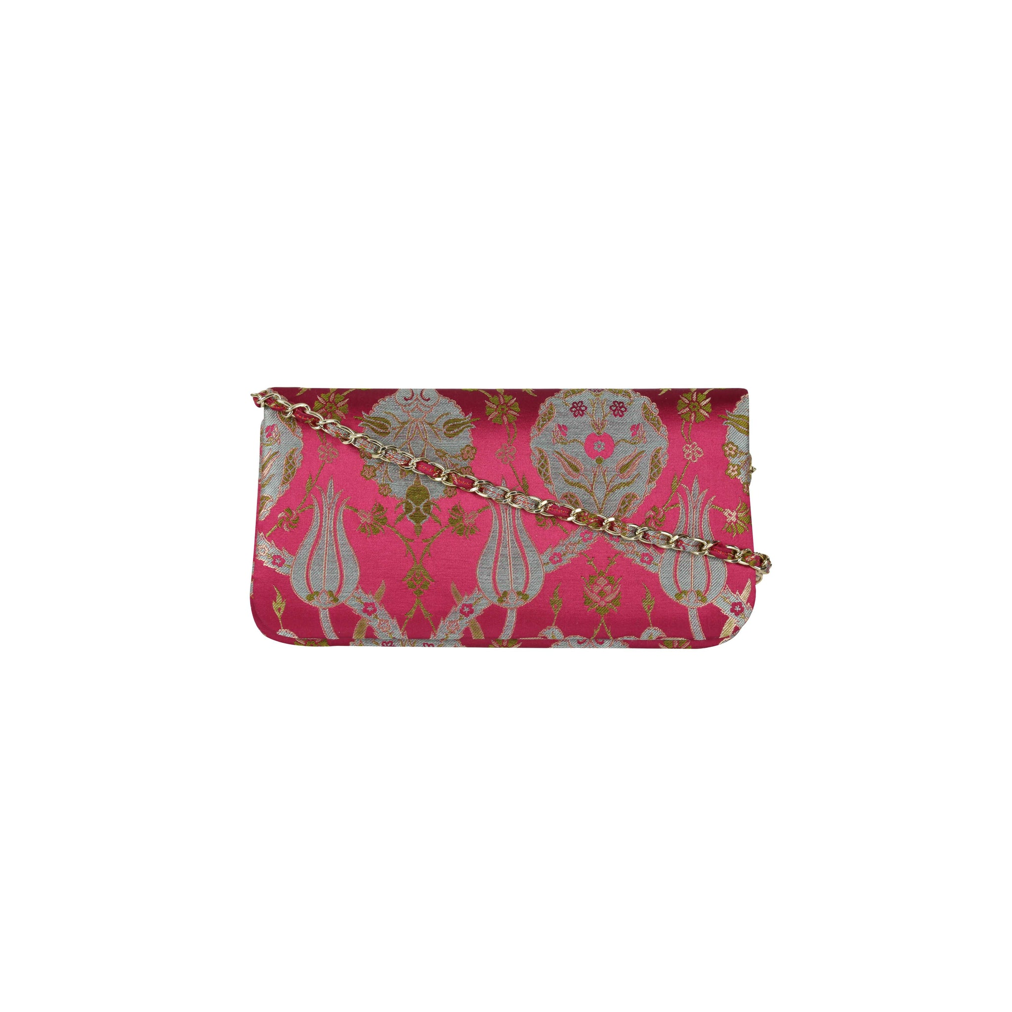 ottoman silks Bosphorus clutch purse in amina fabric