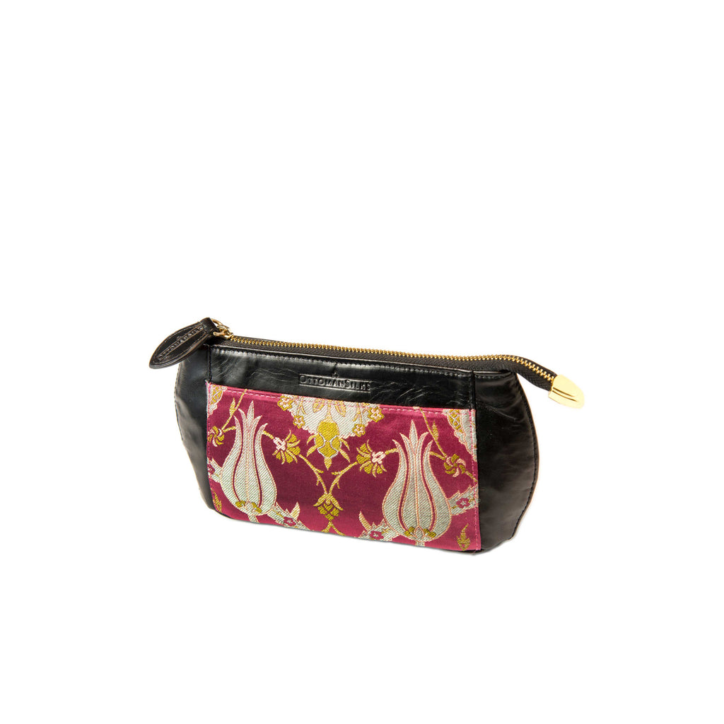 Makeup Bag in Amina