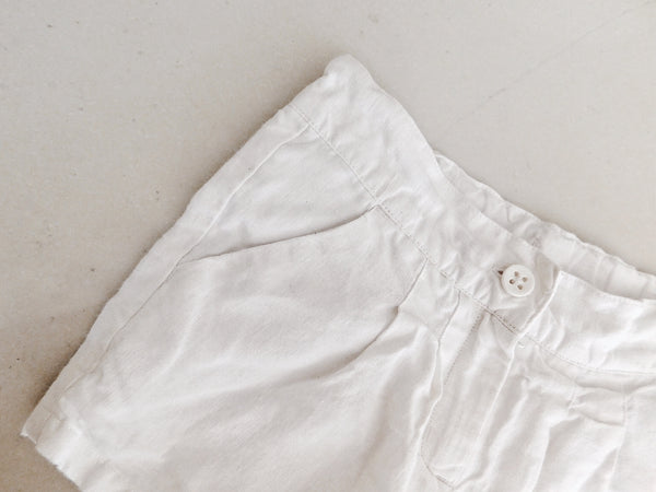 Girls Linen Shorts
