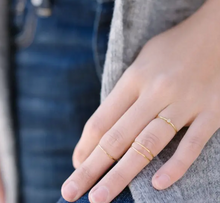 Load image into Gallery viewer, Super Skinny Stacking Ring Trio