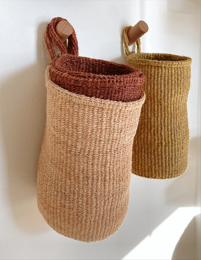 Sisal Hanging Baskets
