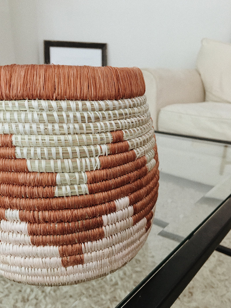 Woven Structured Basket