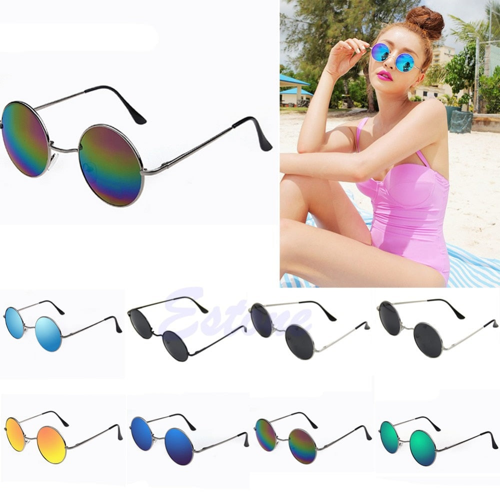 Vintage Men Women Sunglasses Alloy