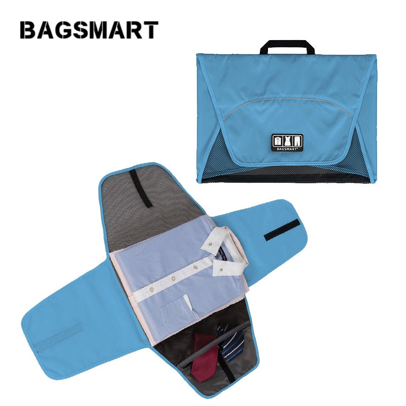 Portable Suitcase Organizer for Shirt Tie Clothes Waterproof
