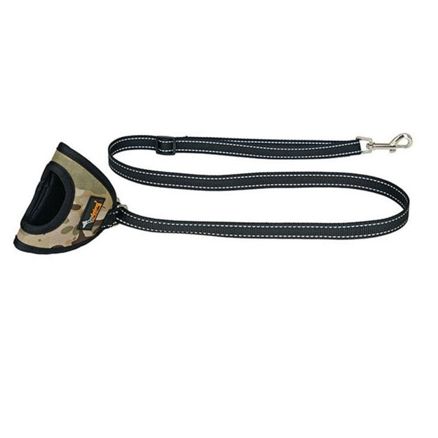 Portable Hand Dog Leash Nylon Collar Lead