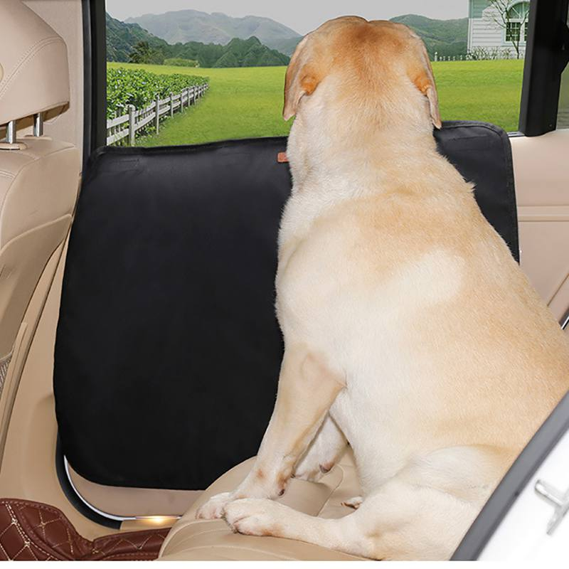 2PC Pet Car Door Protection Mat Durable Soft, Breathable, Dirt resistant, Scratch Resistant