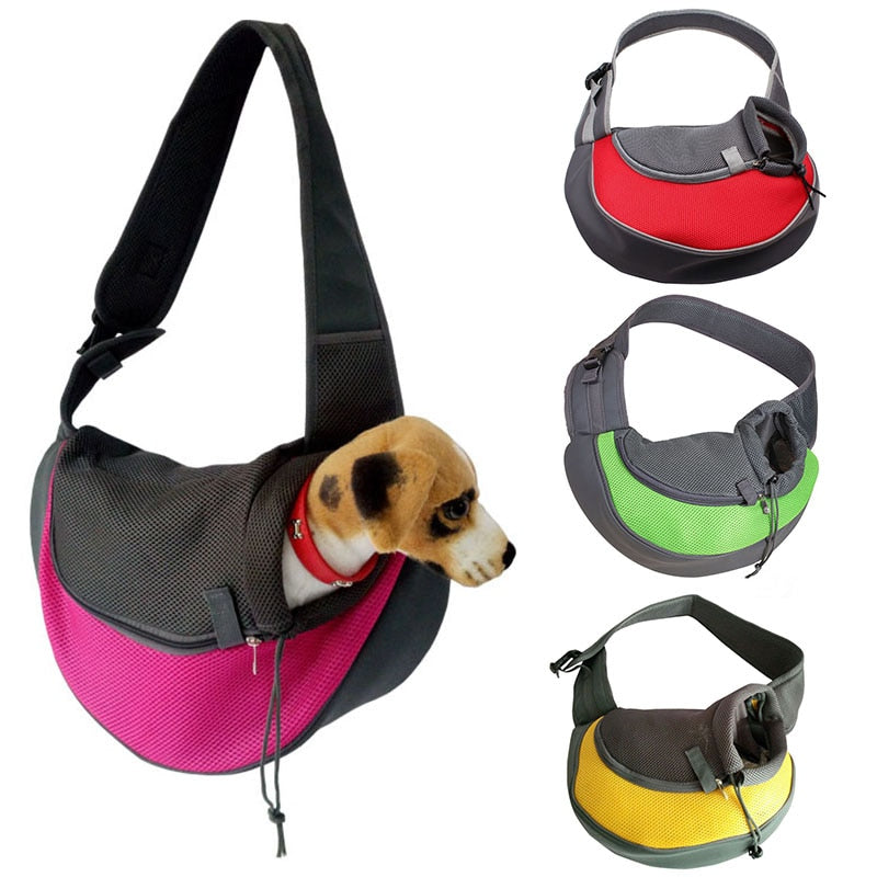 Pet Carrier Small Animal Sling Front Mesh