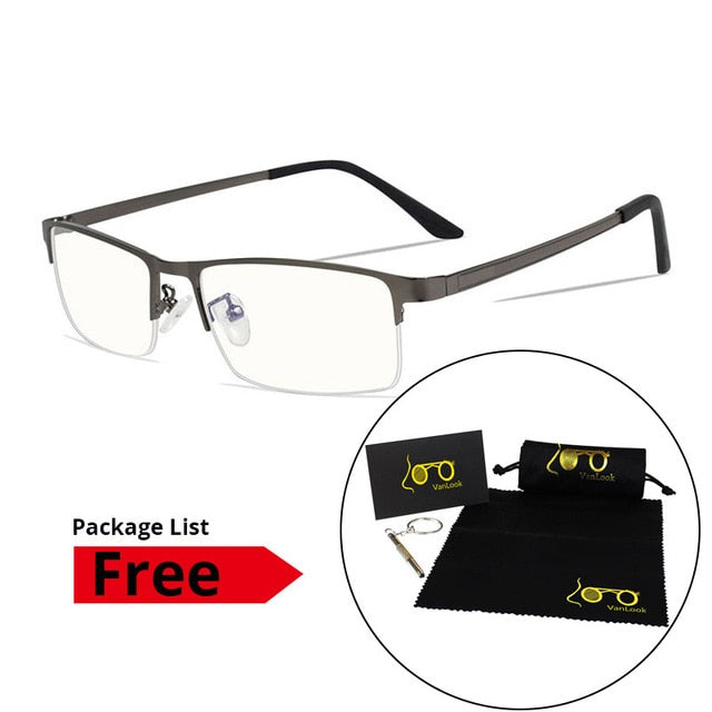 Men's Blue Light Blocking Glasses for Computer, Anti-Radiation, Anti-glare