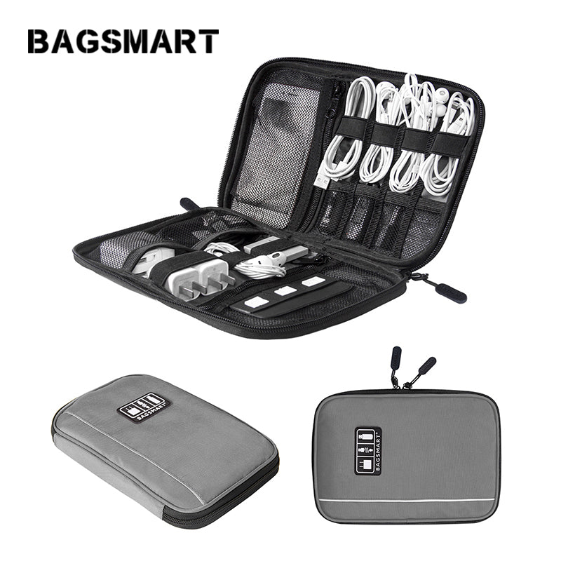 Electronic Accessories Bag Mens  For Data Line SD Card USB Cable