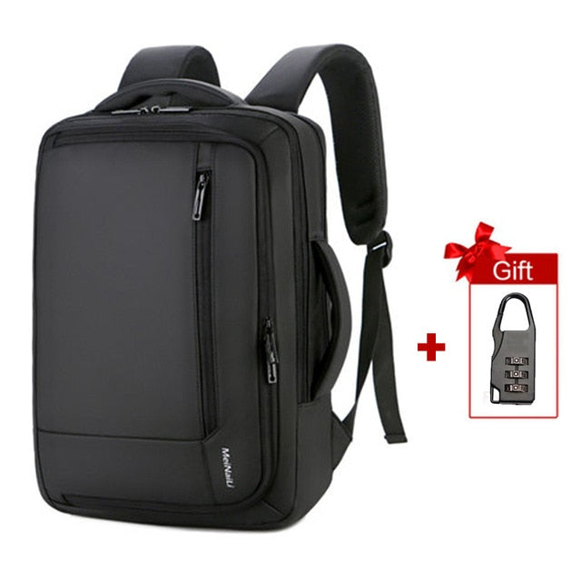 Men Backpack Anti Theft 15.6inch Laptop Smart USB