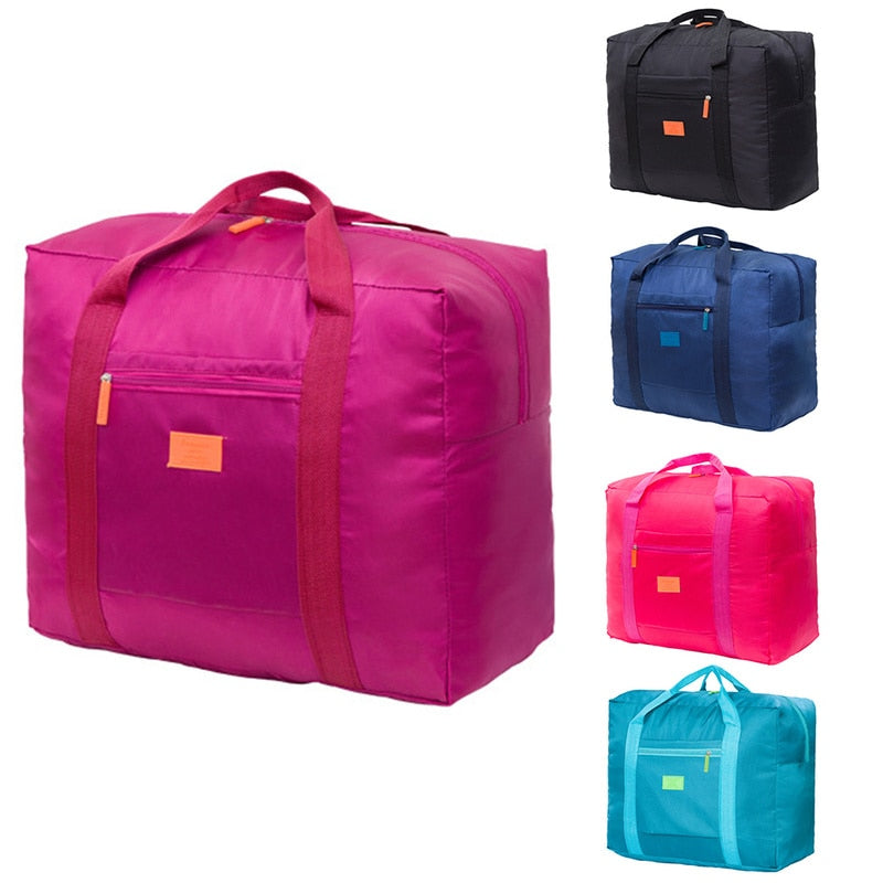 WaterProof Folding Travel Bag Large Capacity Nylon