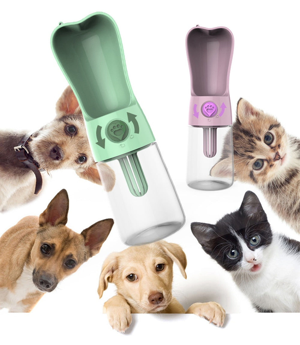 Pet Water Bottle For Outdoor/Travel  250ML Water Cup