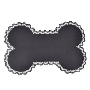 Bone-shaped Pet Feeding Mat Non-slip