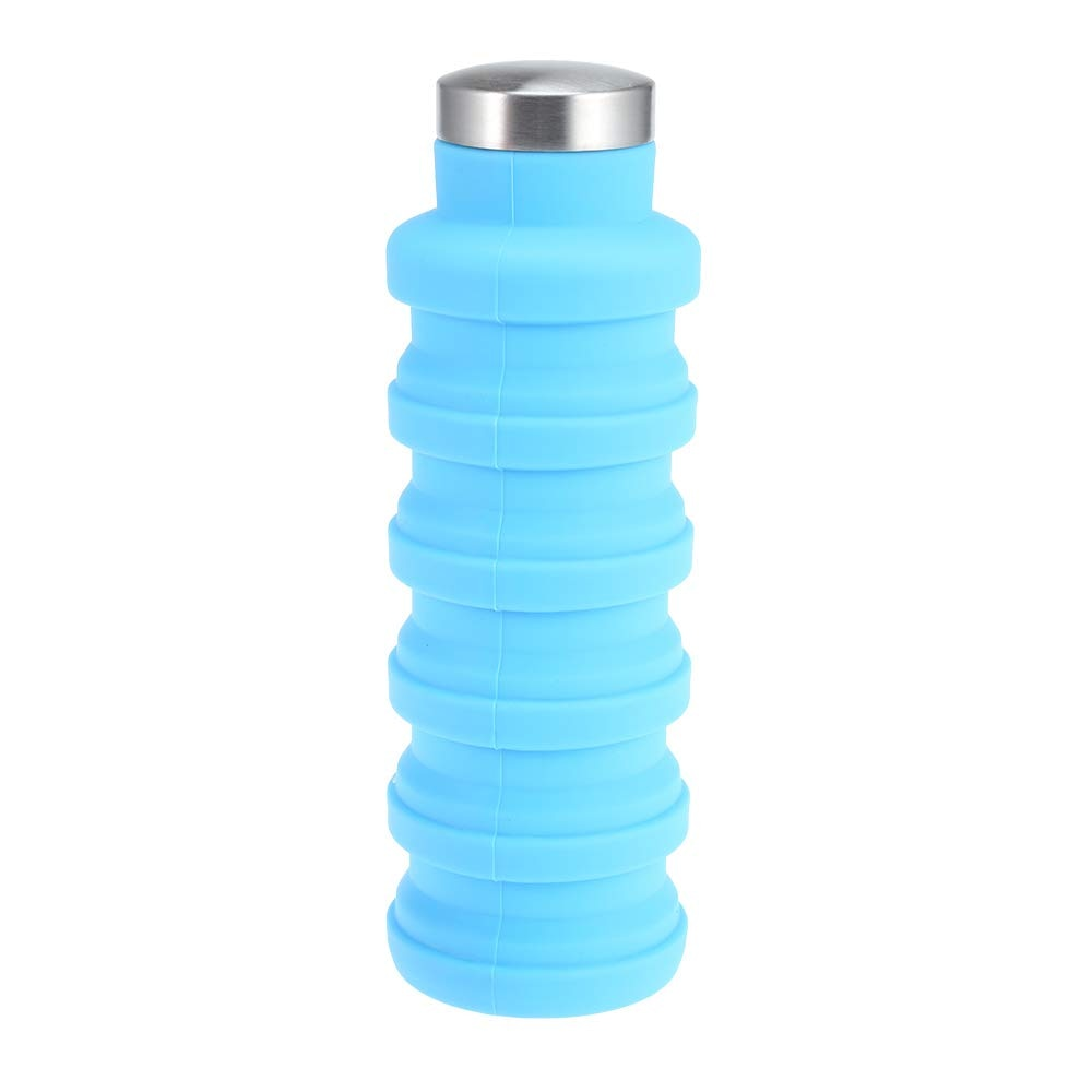 Silicone Folding Water Bottle Non-Toxic Durable