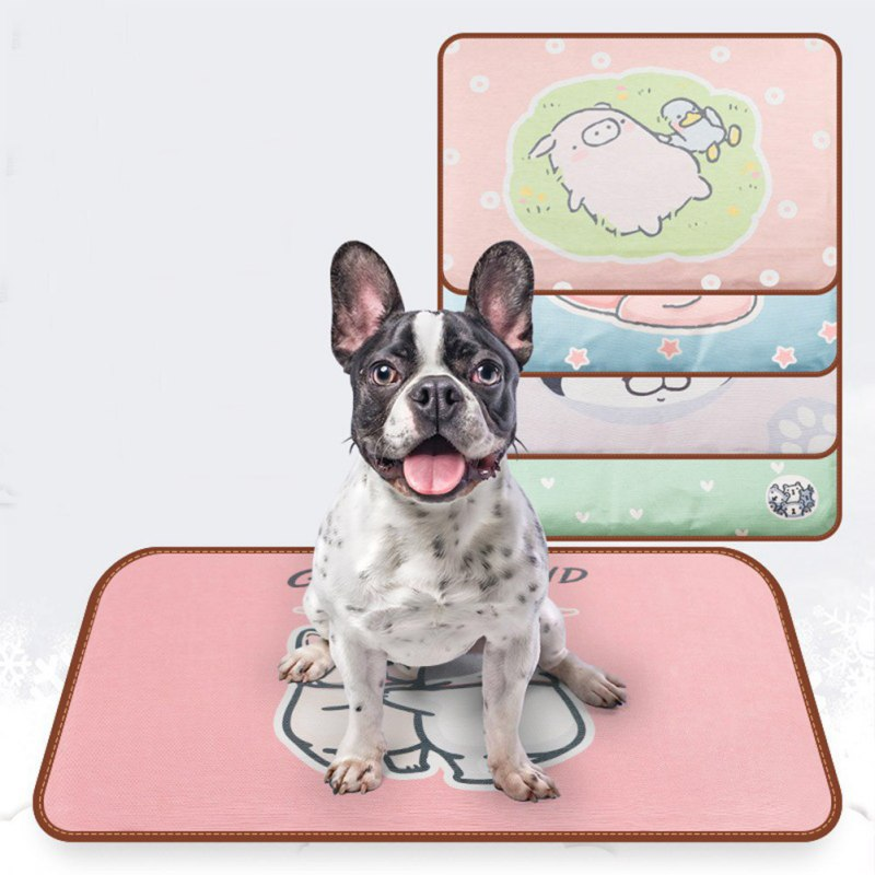 Silk Pet Cooling Mat 2 Sizes 4 Colors