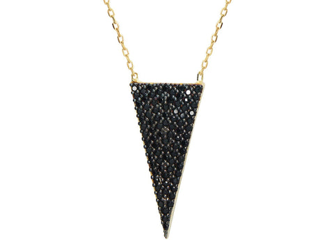 Isoceles Triangle Necklace - Lunar Manic