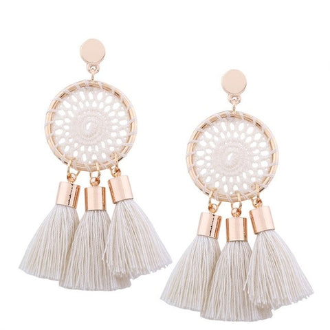 Tiffany Tassel Earrings (7 Colors)