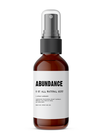 Abundance - All Natural Body Mist - Lunar Manic
