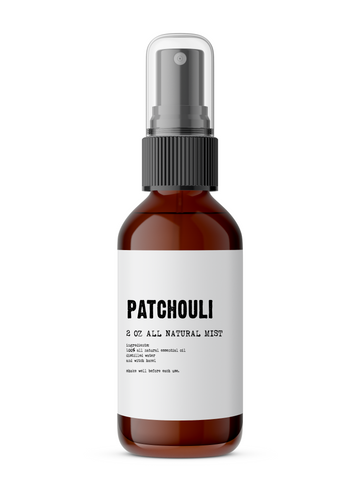 Patchouli - All Natural Body Mist