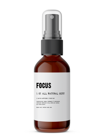 Focus - All Natural Body Mist - Lunar Manic