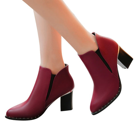 Lana Ankle Boots (3 Colors)