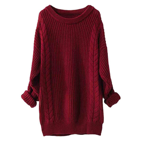 Marianne Pullover Knit Sweater (4 Colors) - Lunar Manic