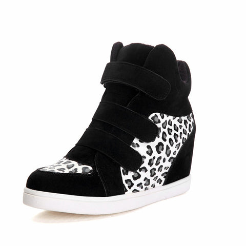Kristy Wedge Sneakers (2 Colors) - Lunar Manic