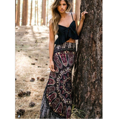 Gypsy Love Maxi Skirt