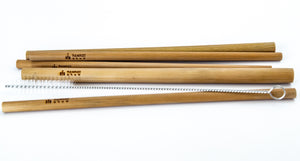 Bamboo Straw : Bamboo Straws : This is a great Wedding Gift or Anniversery Gift.