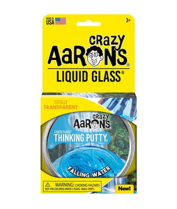 LIQUID GLASS FALLING WATER THINKING PUTTY