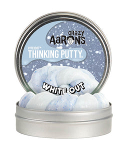Limited Edition WINTER WHITE OUT THINKING PUTTY