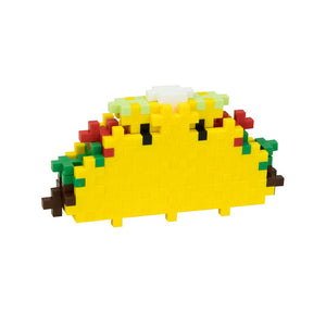 PLUS PLUS Mini Maker Food Tube - Taco